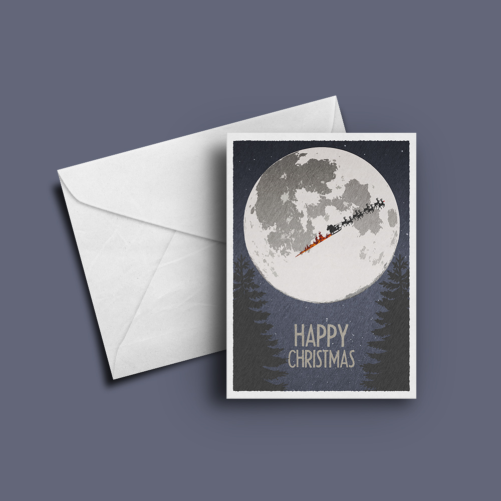 Rocket Bunny christmas-moon-card