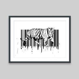 Tigercode - A3 Print
