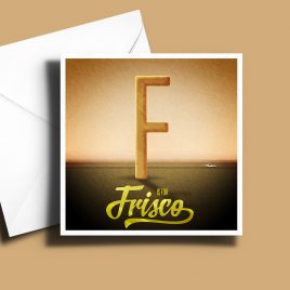 A to Z: Movie Edition - F is for 'Frisco 6 x 6 Greetings Card