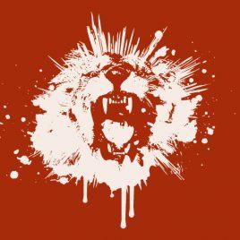 The Splattered Lion